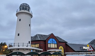 Morrisons lighthouse at Preston Docks | by Tony Worrall