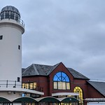 Morrisons lighthouse at Preston Docks