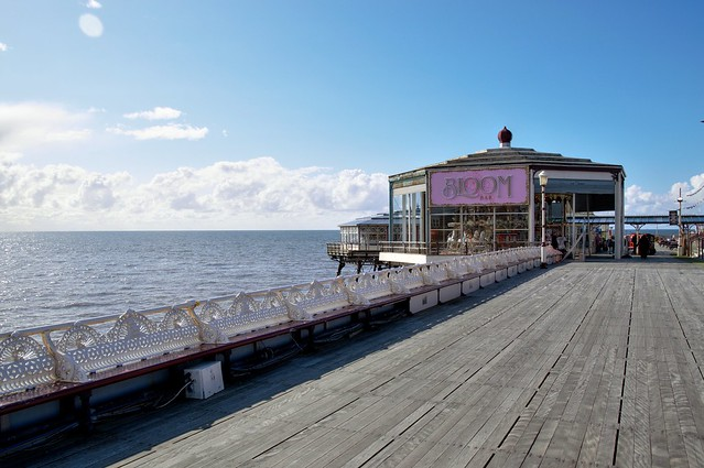On the North Pier at Blackpool