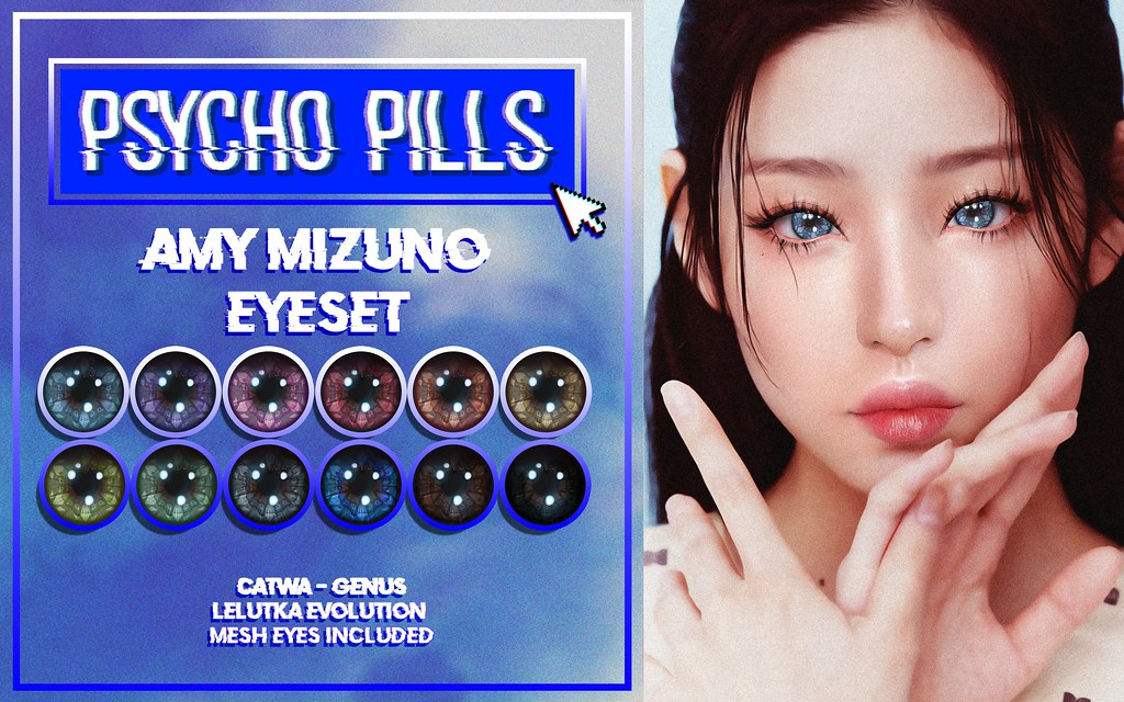 Amy Mizuno Eyeset af Harajuku Event
