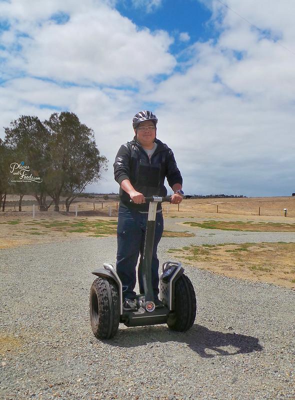 Glen Forest Tourist Park & Vineyard Australia segway