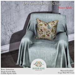 DD Amailia Draped Chair-Adult