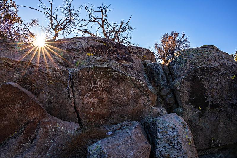 Sunstar Petroglyphs