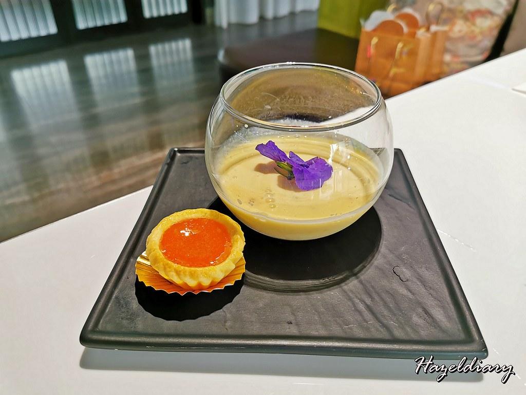 Mitzo CNY 2021-Dessert-Pineapple Sago Cream served with Warm Yam Nian Gao