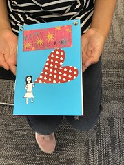 Make a diary craft, Redwood Library