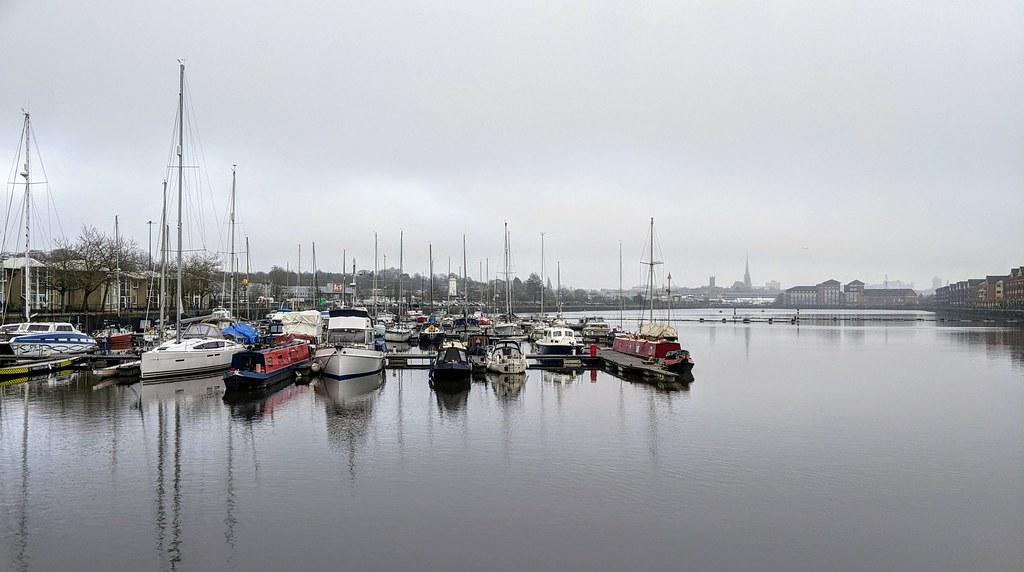 Classic scene at Preston Docks
