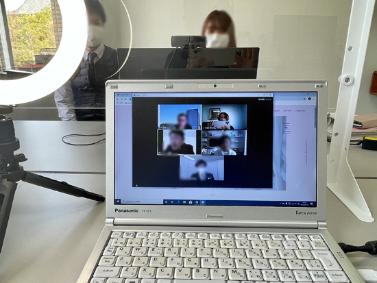 せと・創業カフェ 2021年1月開催 愛知県瀬戸市のオンラインセミナー事業 zoomの画面