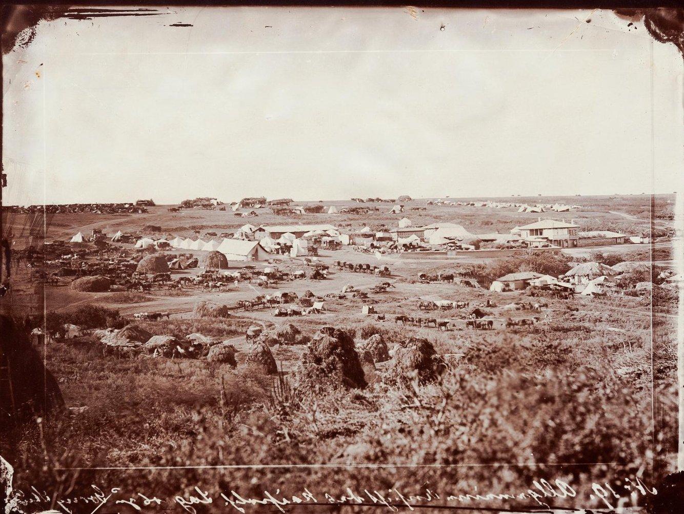 1877-1878. Походный лагерь