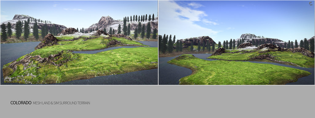 COLORADO MESH LAND & SIM SURROUND TERRAIN