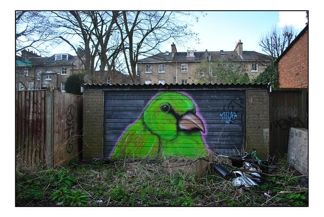 LONDON STREET ART by GUINNESS PUNCH
