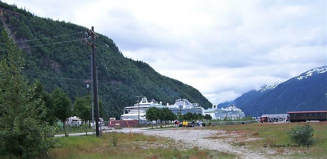 Port of Skagway White Pass Railroad Dock