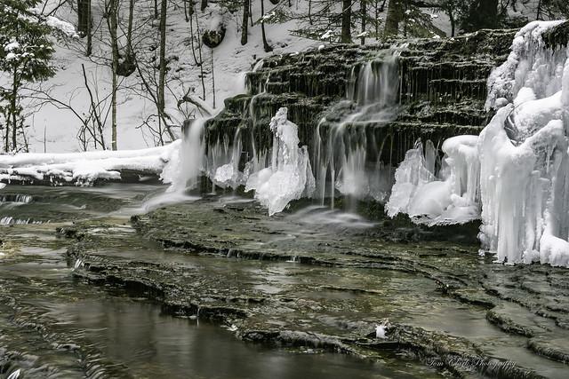 Au Train Falls, Munising Michigan