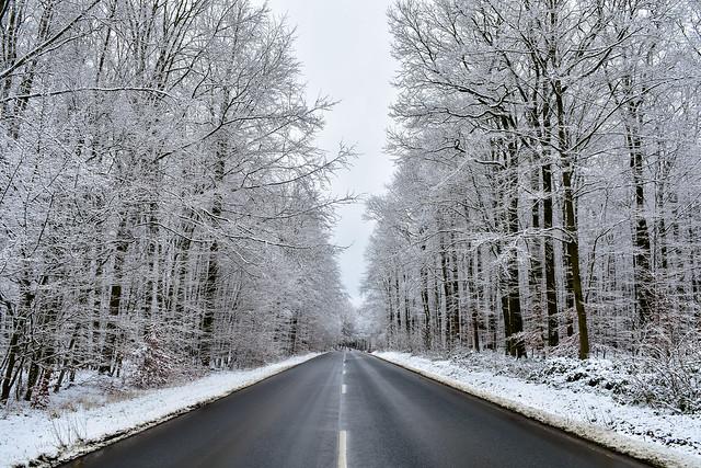 Winterwonderland Weserbergland