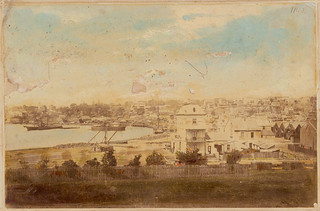 Woolloomooloo, Sydney, c. 1870, hand coloured albumen print | by State Library of New South Wales collection