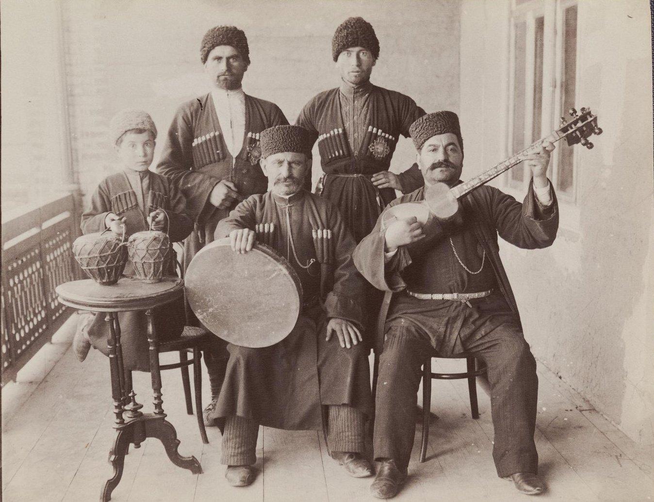 Музыканты «Типлипито»