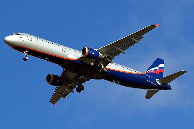 VQ-BEA   Airbus A321-211 [4058] (Aeroflot Russian Airlines) Home~G 15/11/2009