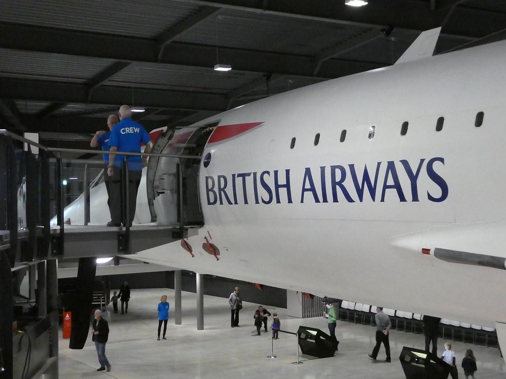 Concorde at the Aerospace Bristol Museum