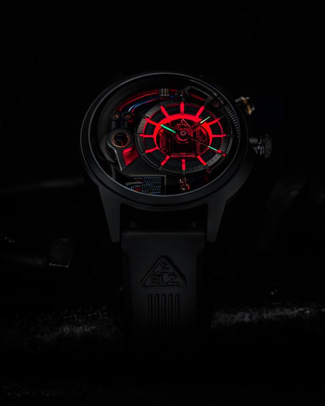 6 - DARK Z (Red LED)