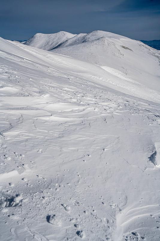 冬の仙ノ倉山