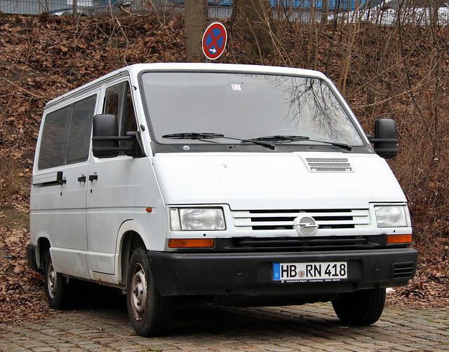 Rare Opel Van