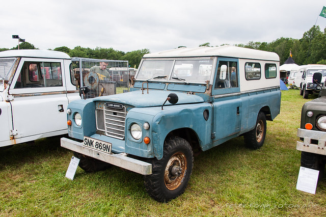 Land-Rover Series III 109 Hard Top - 1975