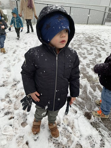 Onthaalklas - Sneeuwwandeling