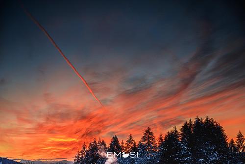 wernberg kärnten austria österreich sonnenaufgang sunrise winter nikon d800 nikon247028
