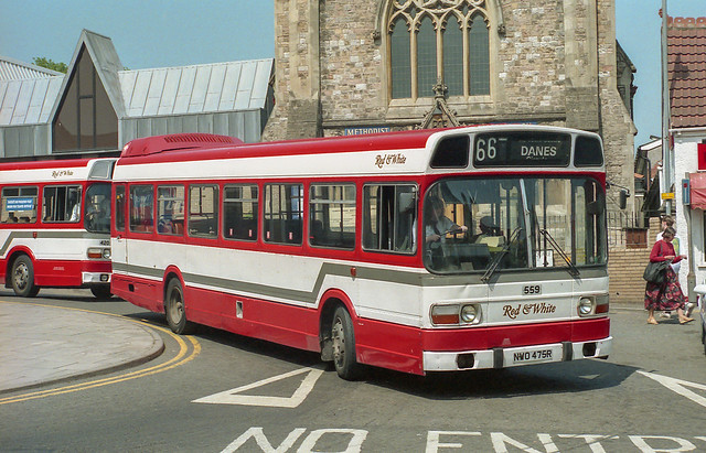 Red & White NWO475R Chepstow 19th May 1992