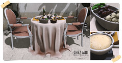 Fondue Romantic Set CHEZ MOI - Exclusive to Shiny Shabby