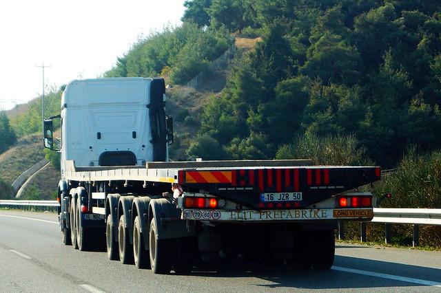 Unknown Brand Düz Yatak 4-Dingilli (2008) - Elit Prefabrike Inşaat Sanayi Ticaret LTD. ŞTI. Nilüfer İlçesi, Bursa, Marmara Bölgesi, Türkiye