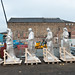 Citizens Theatre statues return to site