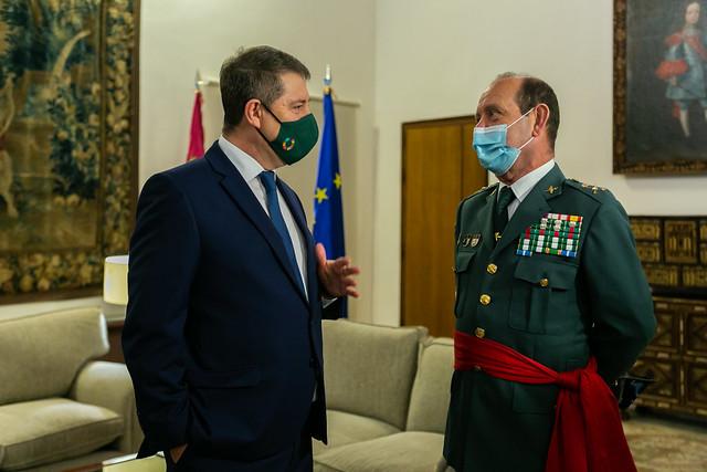Encuentro con el General de Brigada de la Guardia Civil en Castilla-La Mancha