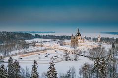 Pazaislis Monastery | Kaunas aerial