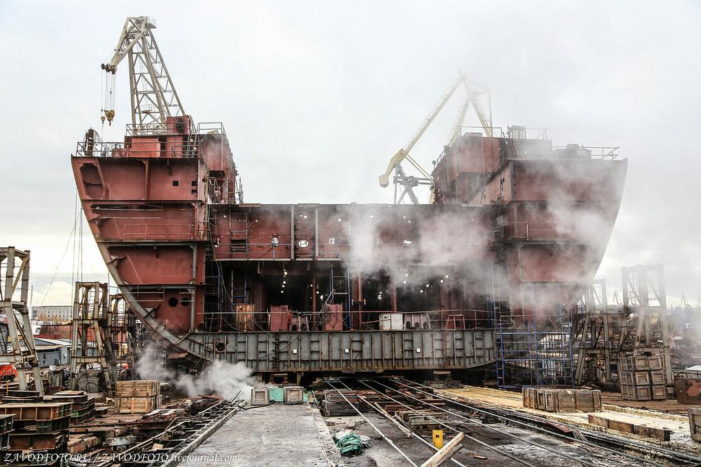Сколько кораблей построили в России в 2020 году 92