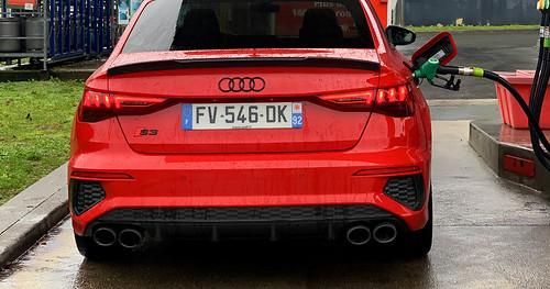 Essai Audi S3 Berline rouge Tango 2021
