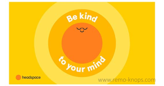 Headspace Logo - Be kind to your mind