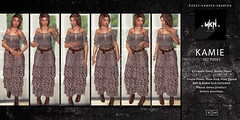 . MKN . Kamie Set Poses ~ NEW RELEASE