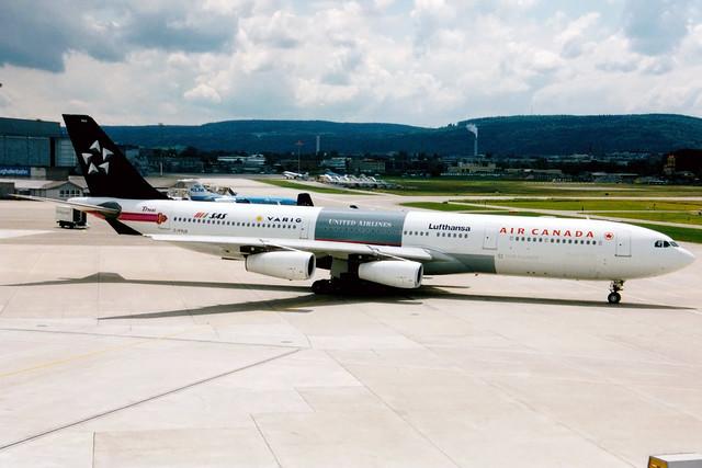 Air Canada | Airbus A340-300 | C-FYLD | Star Alliance livery | Zurich Kloten