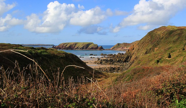 View down to Marloes Sands - Pembrokeshire 290920 (1)