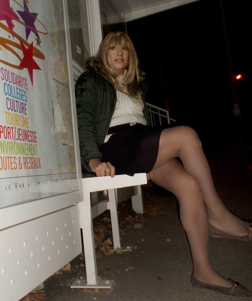 Waiting the bus
