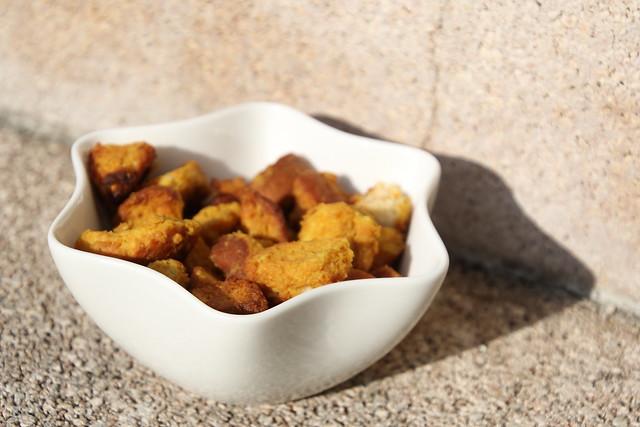 Homemade pretzel snacks
