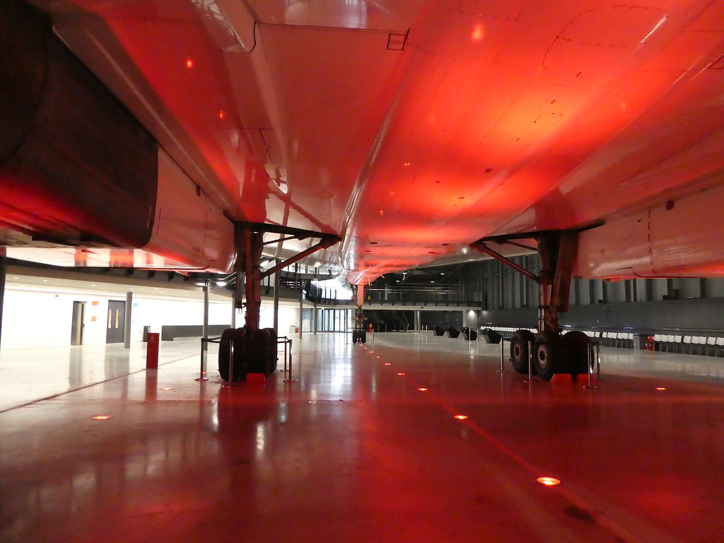 Beneath Concorde, Aerospace Bristol