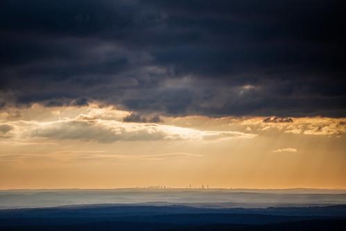 mount watatic boston skyline sunrise hiking nature landscape