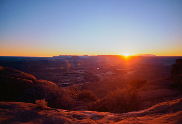 Green River Sunset