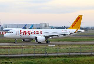 F-WWBO / TC-NCT Airbus A320-251N Pegasus s/n 10269 - First flight * Toulouse Blagnac 2021 *