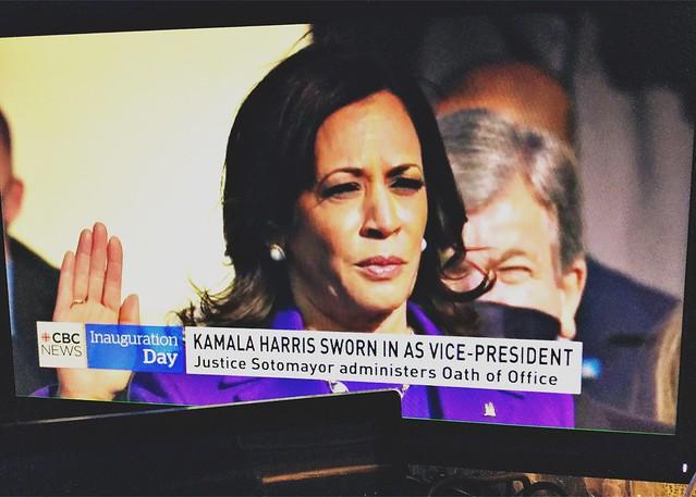 Vice-President Kamala Harris