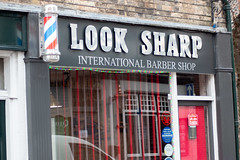 Look Sharp Barbers Pole