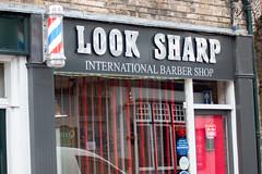Look Sharp Barbers Pole