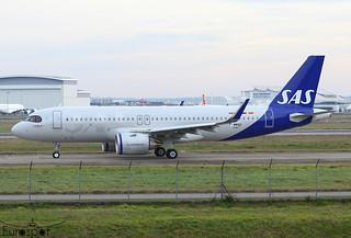F-WWBD / SE-RUE Airbus A320-251N SAS s/n 10407 * Toulouse Blagnac 2021 *