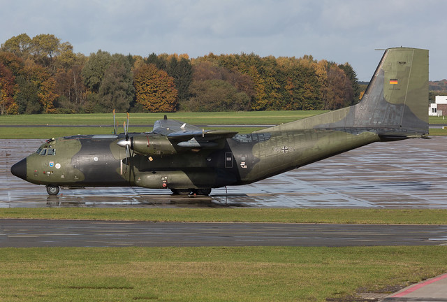 50+36 German Air Force Transall C-160